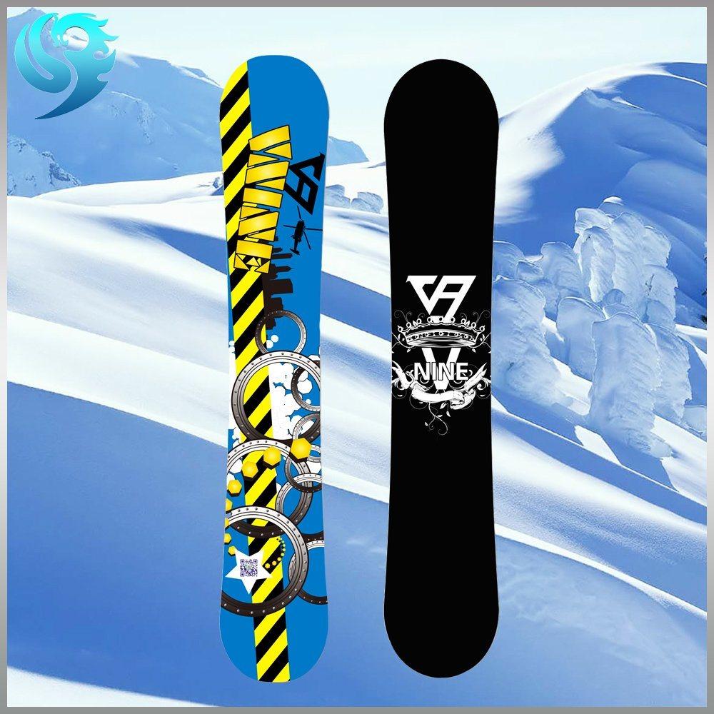 Durable Safe Custom Printing Picture Design Kid Snowboard