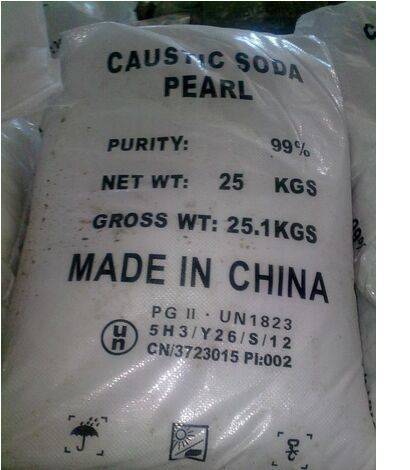 Caustic Soda Pearls 99% Manufacturer of Sodium Hydroxide