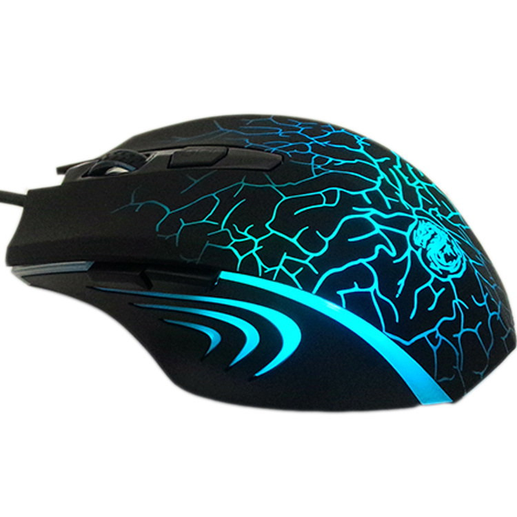 2400dpi 6D Professional USB Optical Gaming Mouse Computer Accessories