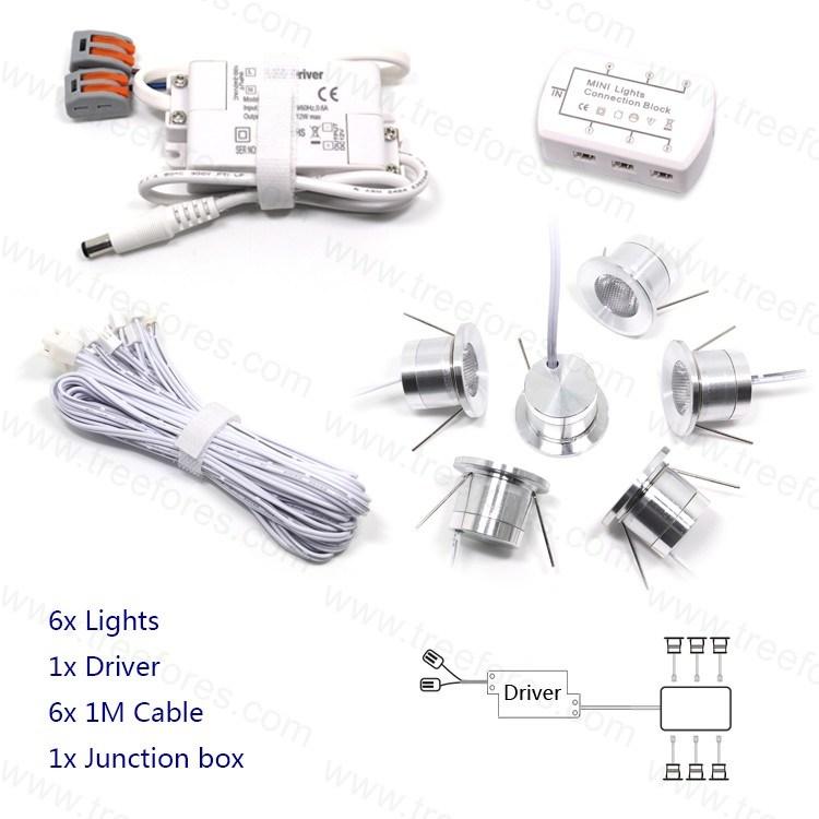 1W Mini LED Spot Bulb