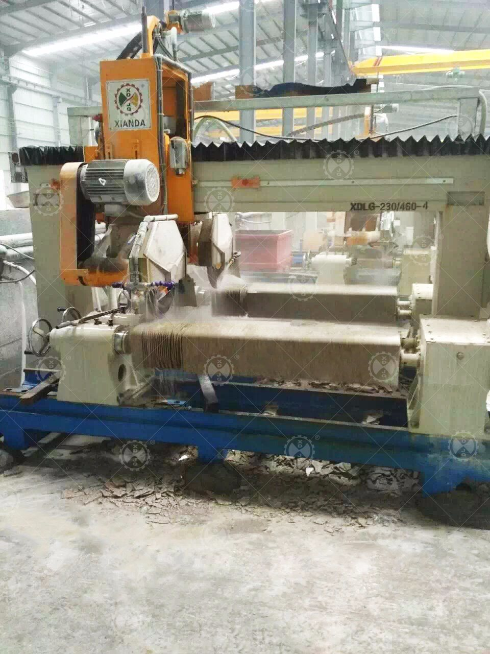 Fhrc-230/460-4 Marble Granite Handrail/Column/Balustrade Cutting Machine