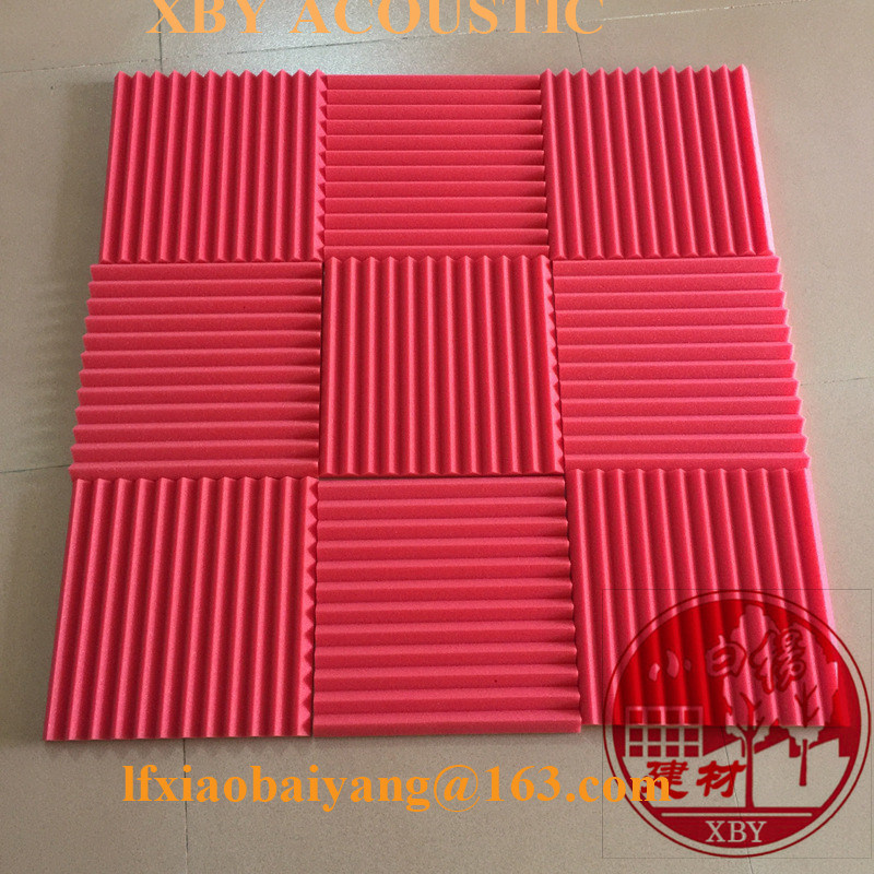 Soundproof Acoustic Foam Panel Board Wall Panel Ceiling Panel with Wedge Shape Decoration Acoustic Panel