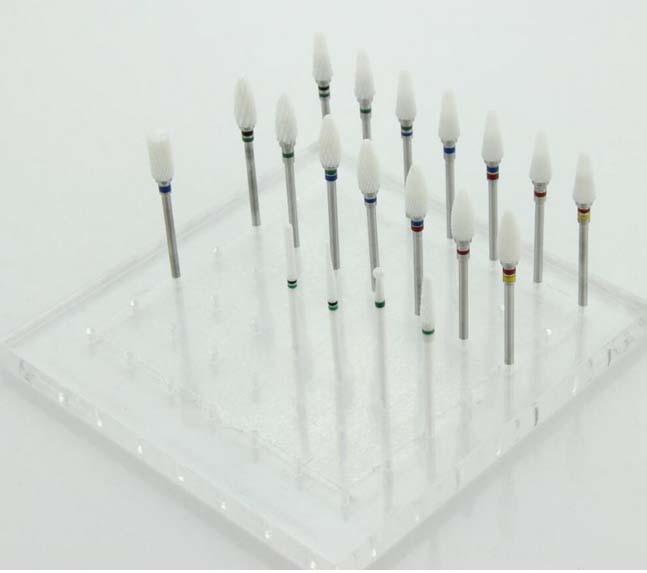 Ceramic Nail File Drill Bit for Nail Art Machine