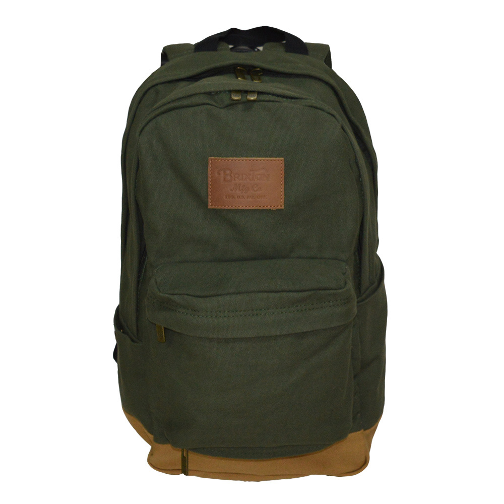 Cotton Canvas Daily-Use Soft Laptop Backpack
