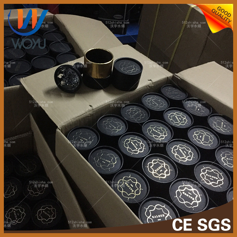 Selling New Glass Silicone Cyclone Cigarette Butts The High Borosilicate Glass Bowl Yanju Hookah Smoke Accessories