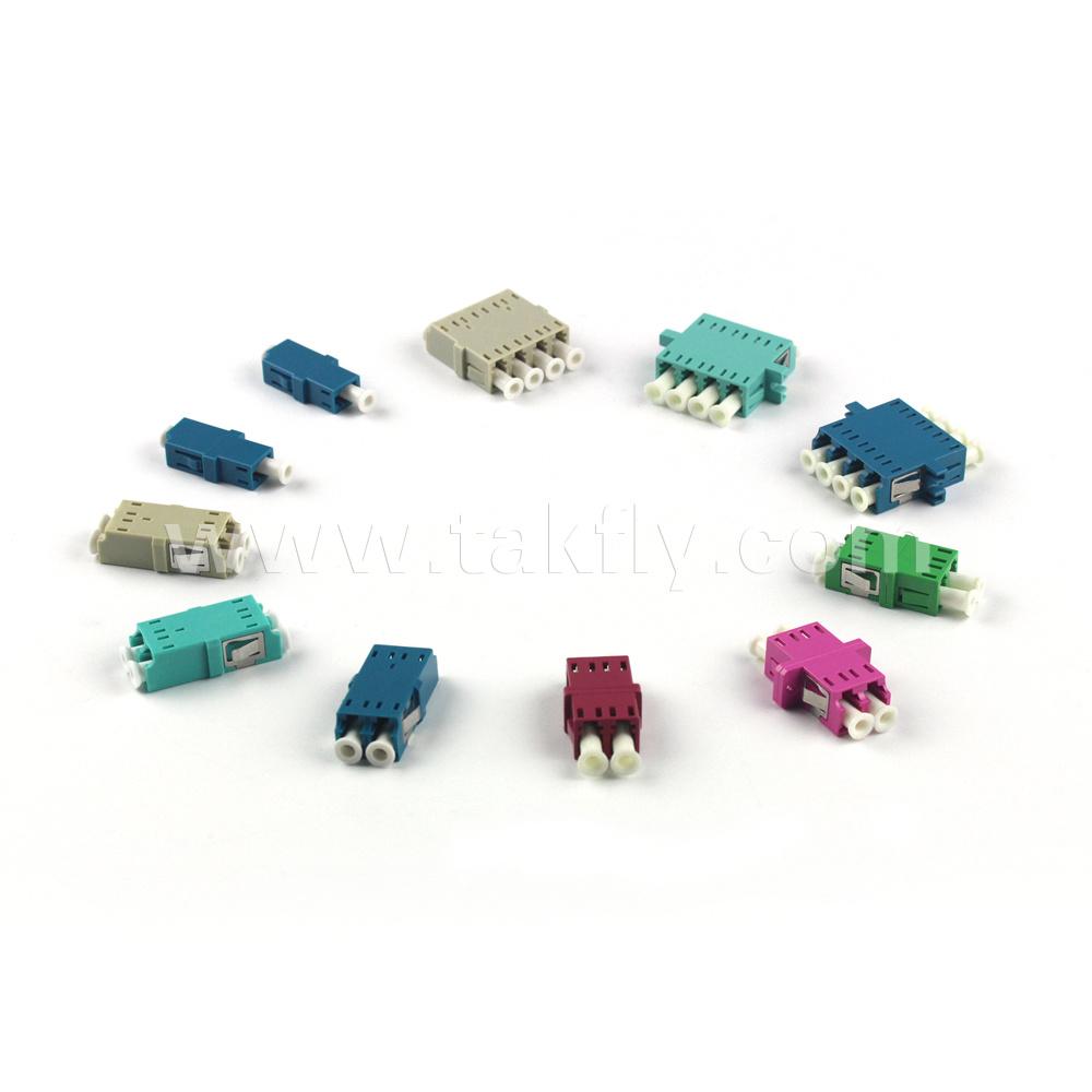 LC Single Mode/Multi Mode Fiber Optic Adapter