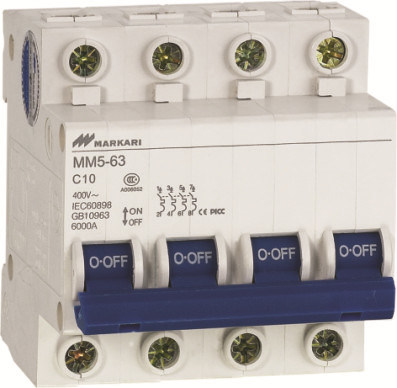 Mini Circuit Breaker (MM5-63-4P)