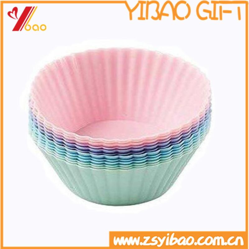 Silicone Kitchenware Bear High Temperature Silicone Cake Mold (YB-HR-49)