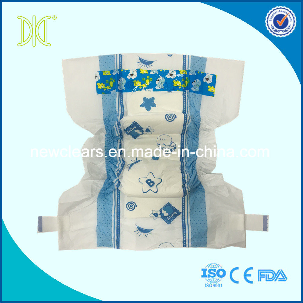 Comfortable Baby Nappies Disposable Baby Diaper