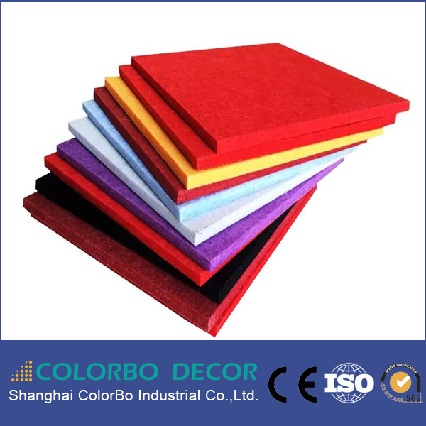 Decorative Sound Absorbing Wall Polyester Fiber Acoustic Panel