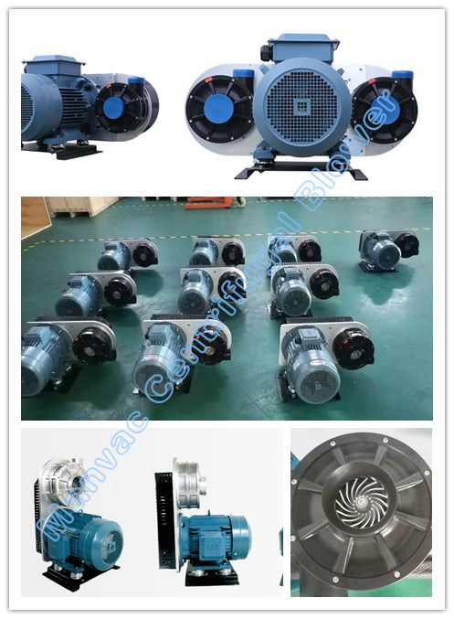 Air Knife Mounting System Centrifugal Fans