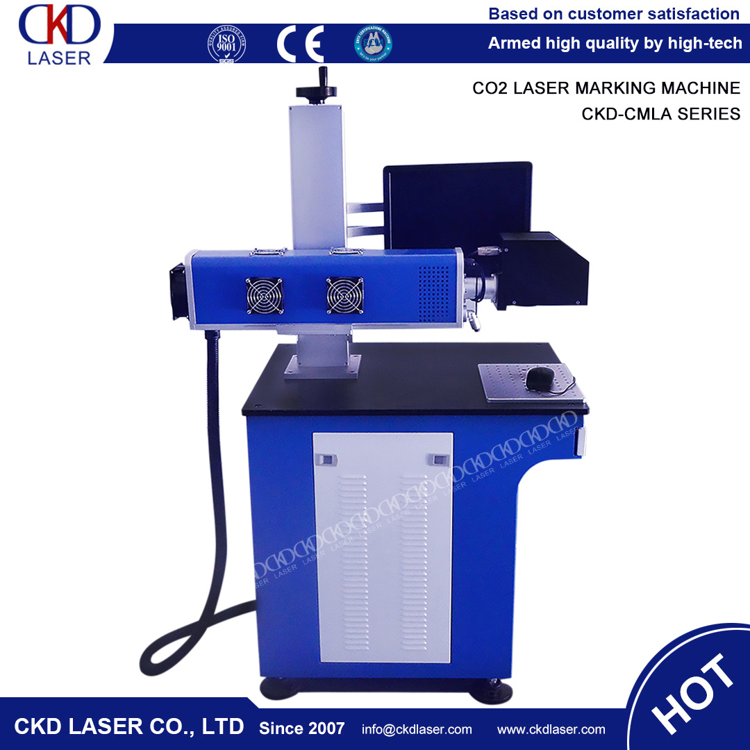 60W Table Style CO2 Synrad Laser Marking Machine for Non Metal