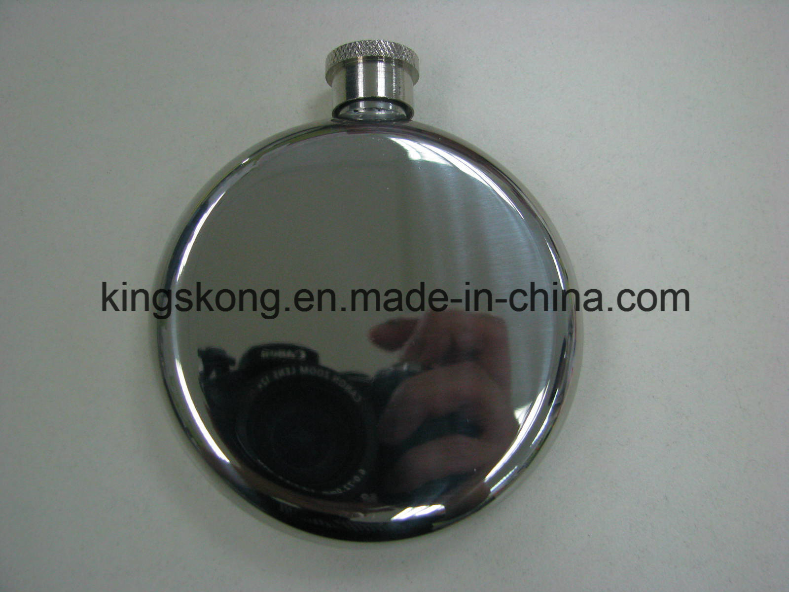 5oz Round Shape Stainless Steel Hip Flask