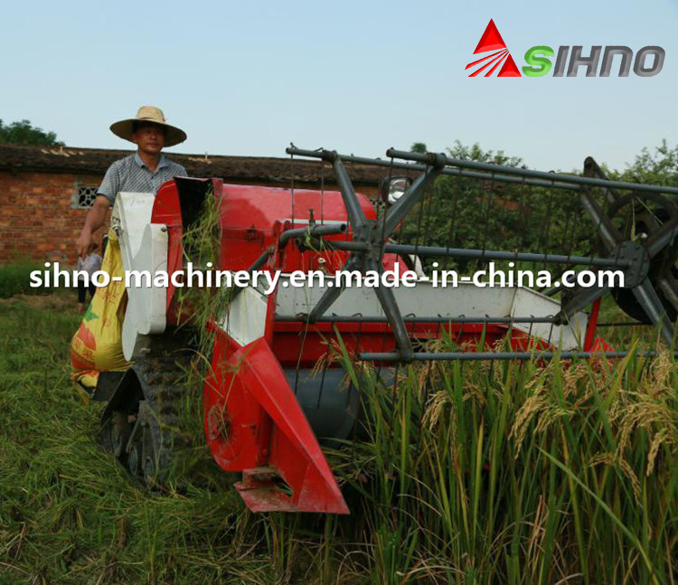 2016 China Newest Mini Grain Harvester Combine