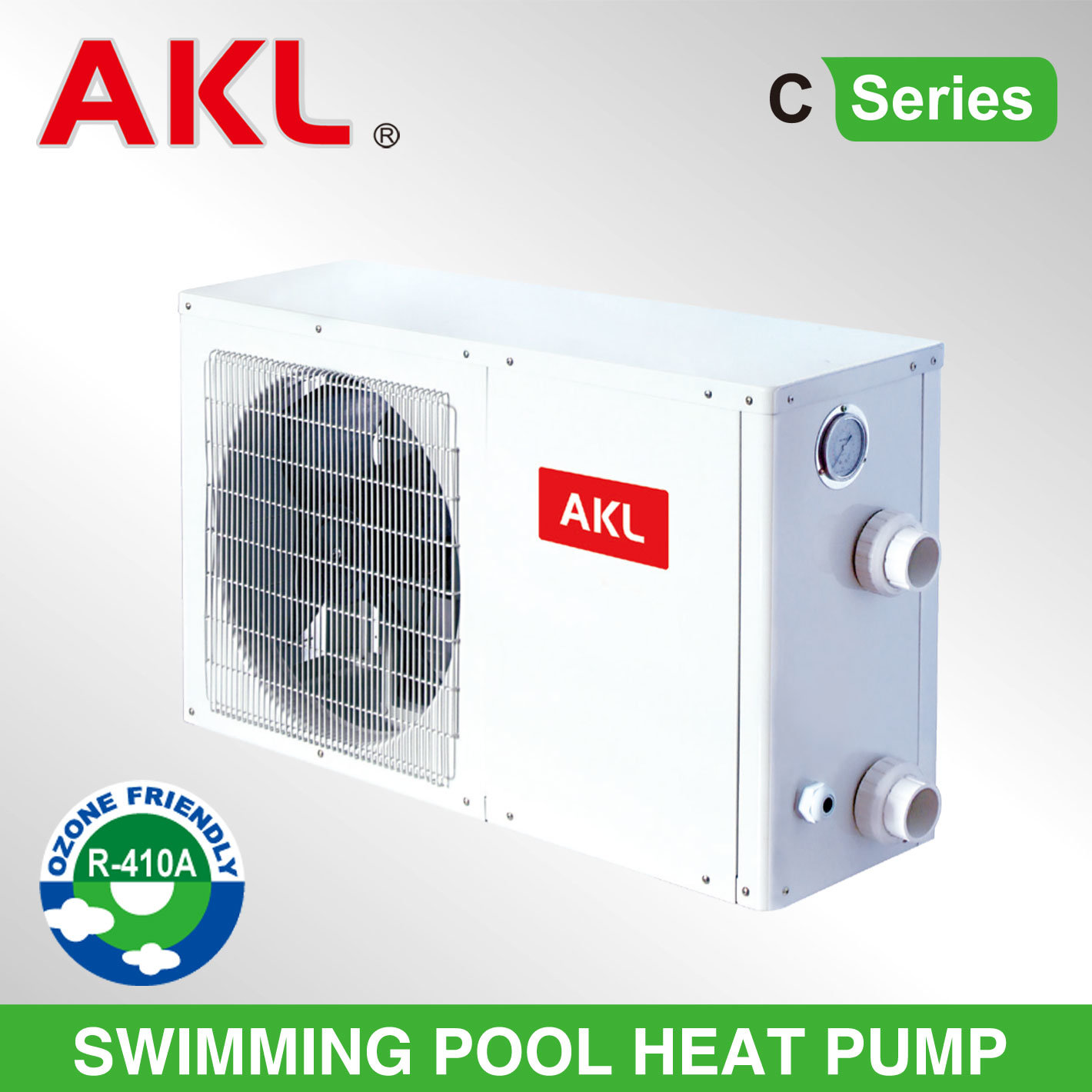 Fashion Air to Water Swimming Pool Heat Pump with RoHS
