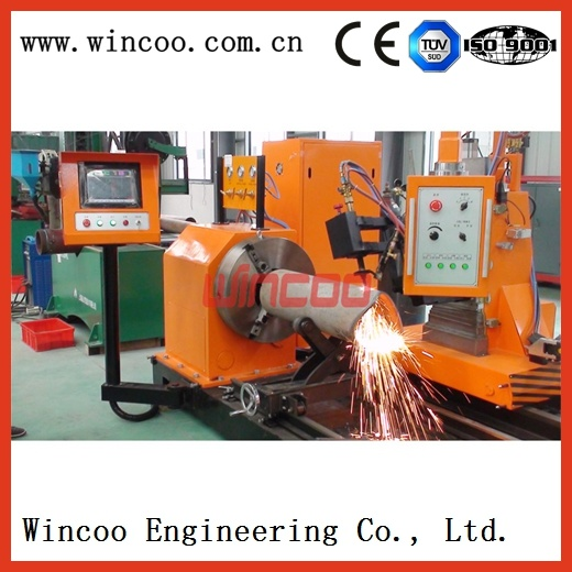 Automtaic Pipe Flame Beveling & Cutting Machine