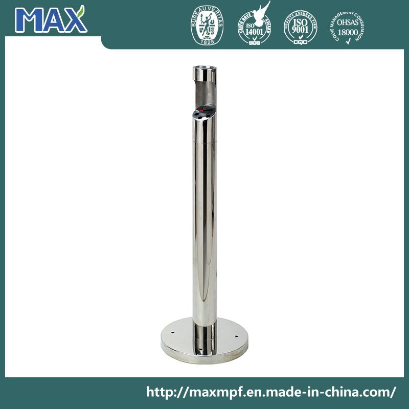 Freestanding Theftproof Cylinder Round Smoking Ash Recrptacles