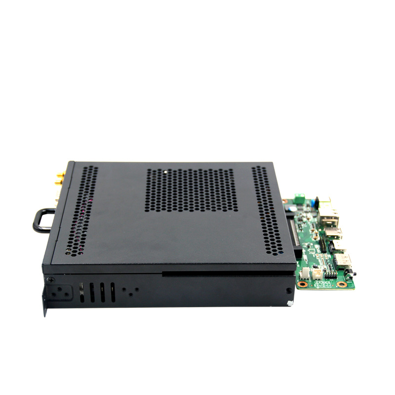 OPS Mini PC Computer with DC12~19V Power, Industrial Mini Pcwith 4*USB3.0/1*RS232