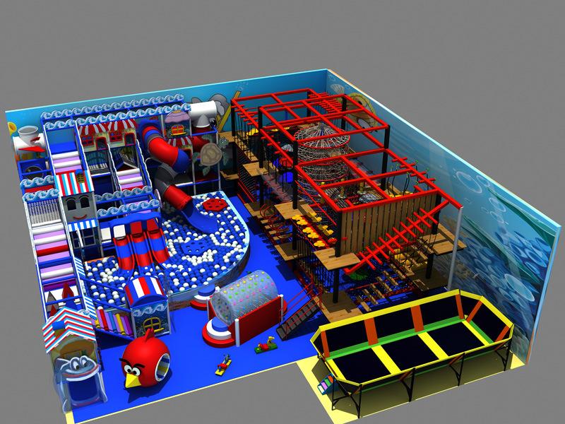 Kaiqi 2015 Indoor Playground Show Room Sample
