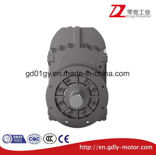 F Series Parallel Shaft Flange Mounted/Hollow Shaft Helical Geared Motor
