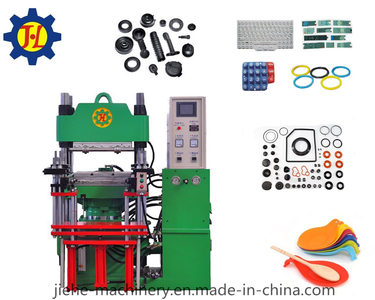 Single Plate Rubber Silicone Processing Machine Made in China