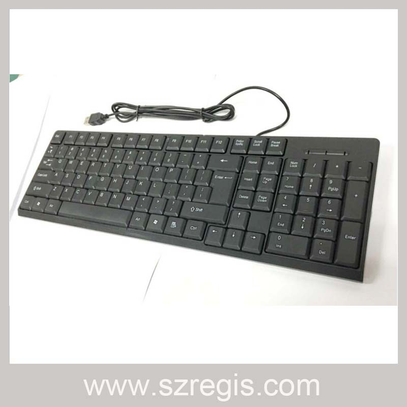 New 104-Key USB Wired PC Keyboard