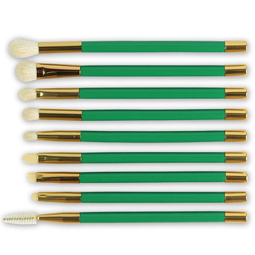 15 PCS Professional Elegant Goat Hair Makeup Brush Set