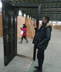 Steel Security Door for Interior Design