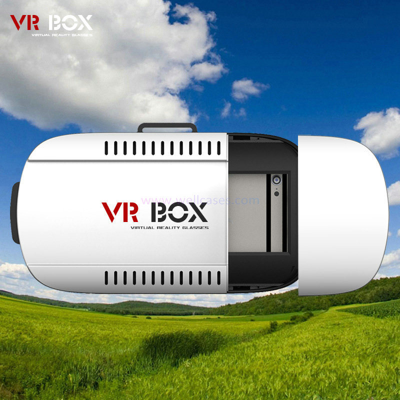 Wholesale Imax Video Vr Box/Case Vr Headset 3D Video Movie Game Glasses Virtual Reality Glass for Universal 3.5-6 Inch Smart Phone