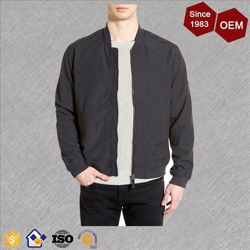 OEM Latest Design Men′s Cotton Bomber Jacket