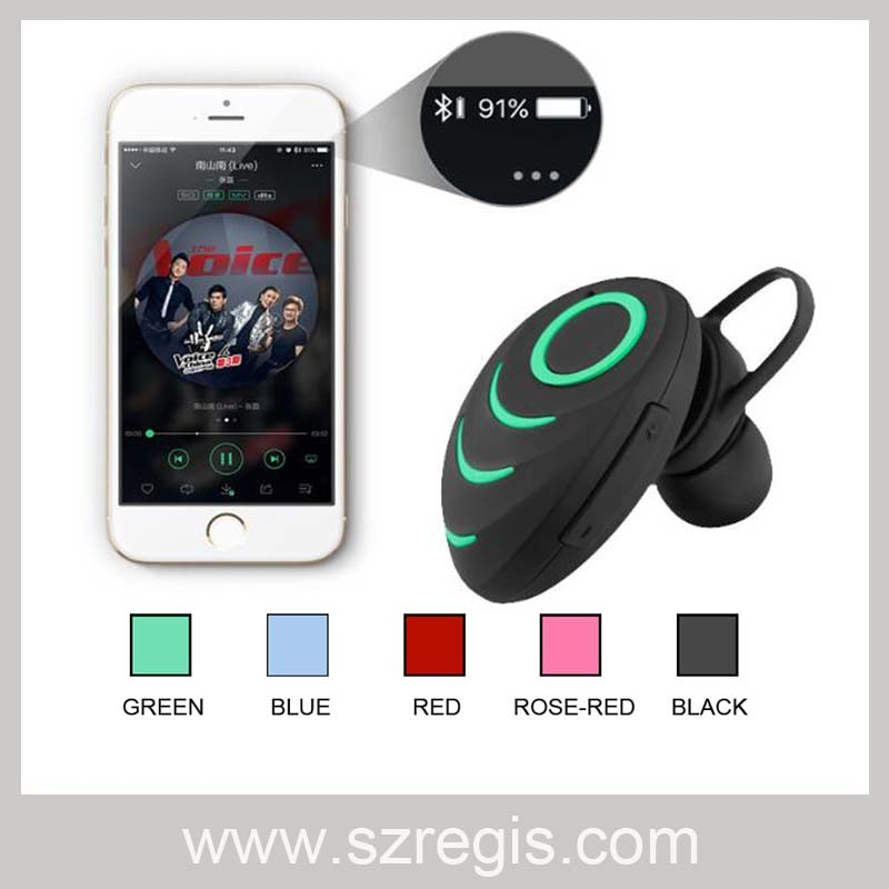 Headsfree Stereo Beetle Wireless MP3 Headset Headphone Bluetooth Earphone