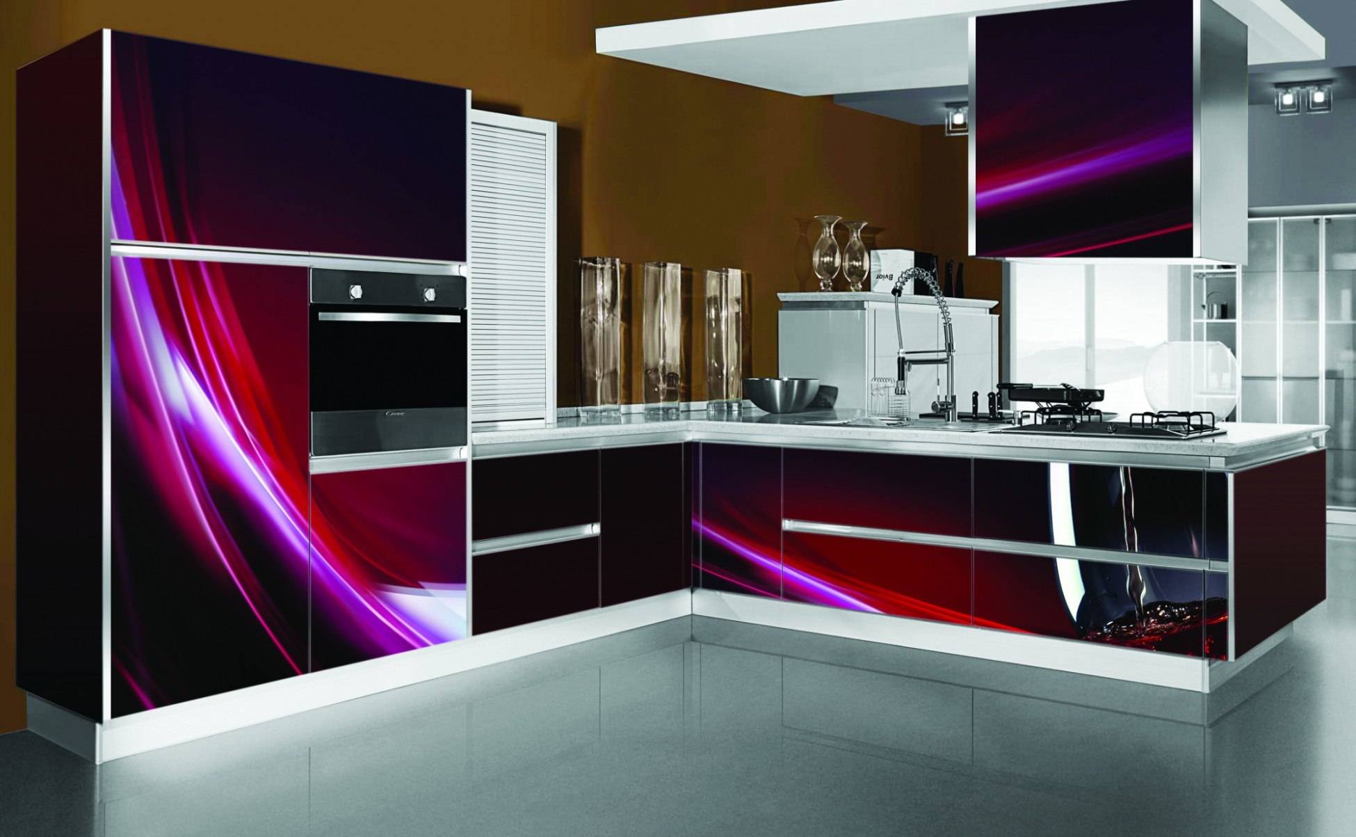 China l shape 3d print kitchen cabinets p009 photos for 3d printing kitchen cabinets