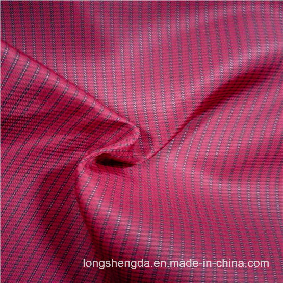 75D Water & Wind-Resistant Anti-Static Mountaineering Jacket Woven Dobby Jacquard 100% Polyester Fabric (X056)