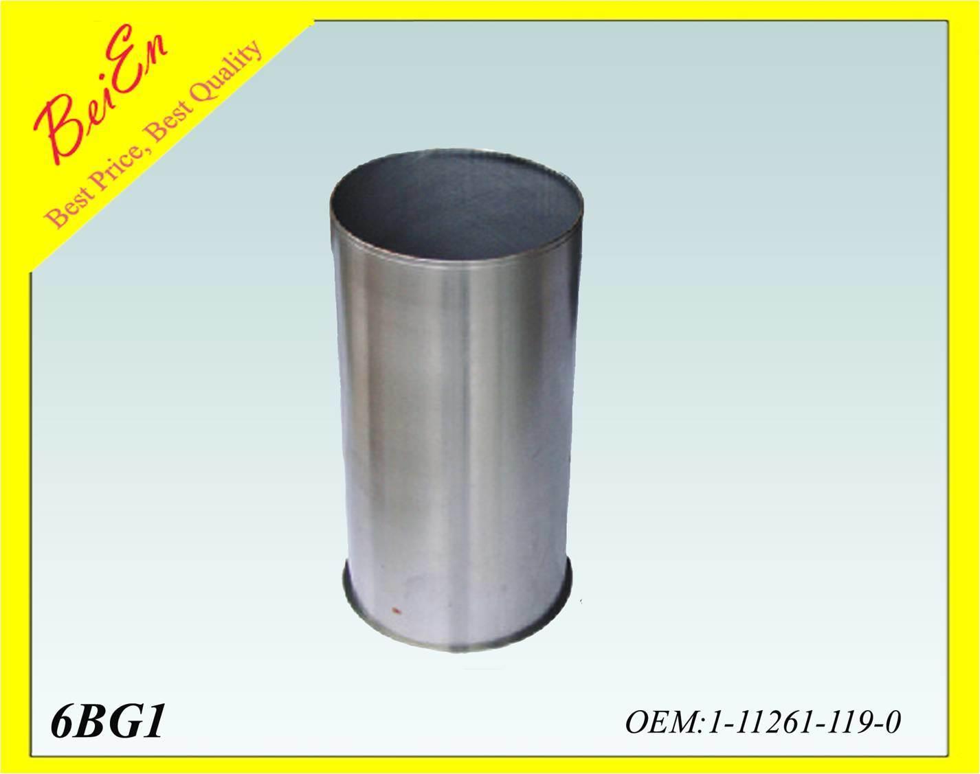 Genunie Cylinder Liner for Excavator 6bg1t Diesel Engine Model (Part number: 1-11261119-0)
