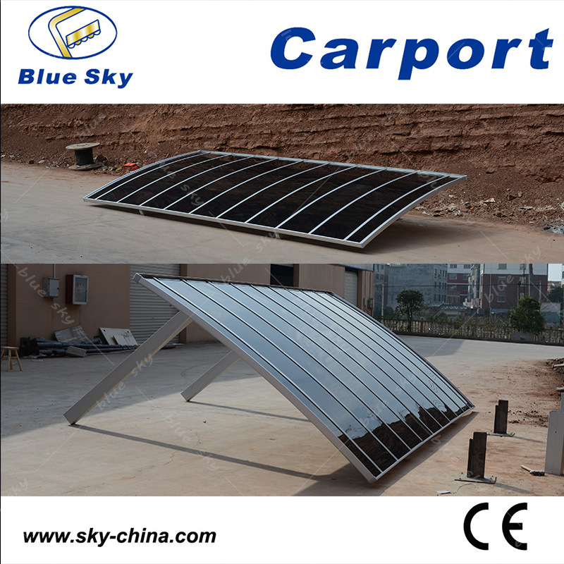 Y Shape Polycarbonate Sheet Carport for Car Parking (B810)