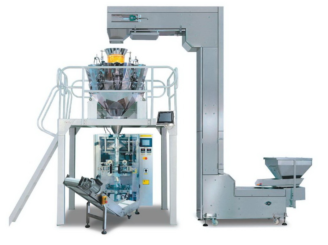 Weighing and Pack System Automatic Mushroom Bagging Machine Jy-420A