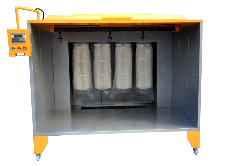 Manual Powder Coating Spray Booth for Metal Spray