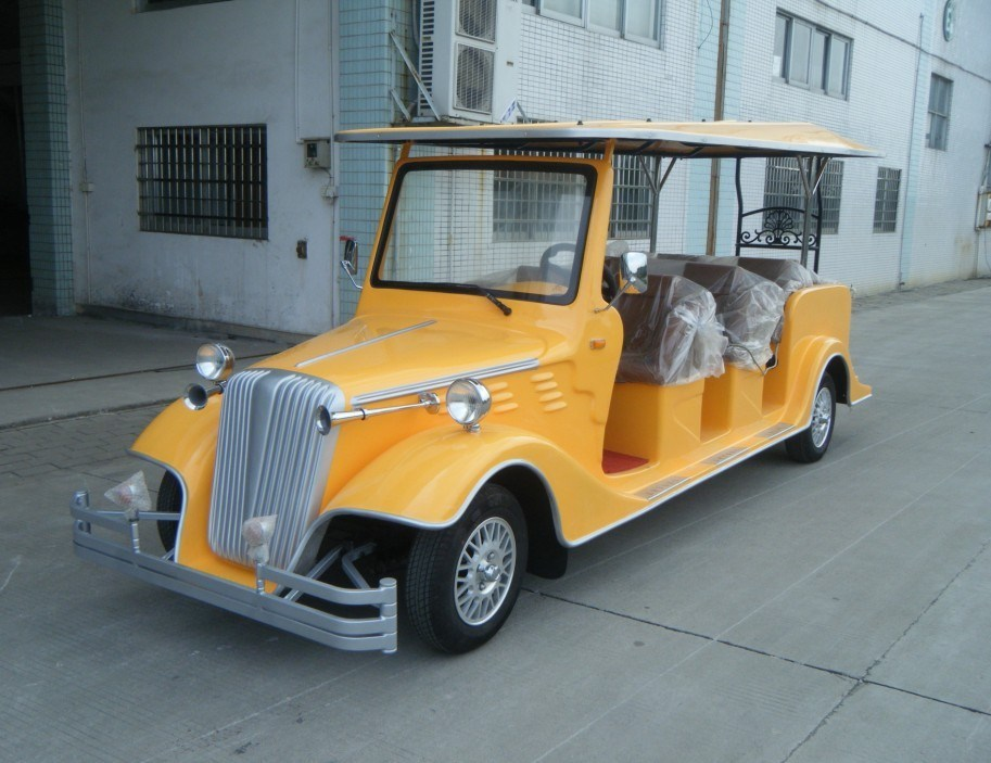 Battery Power 8 Person Electric Classic Bus