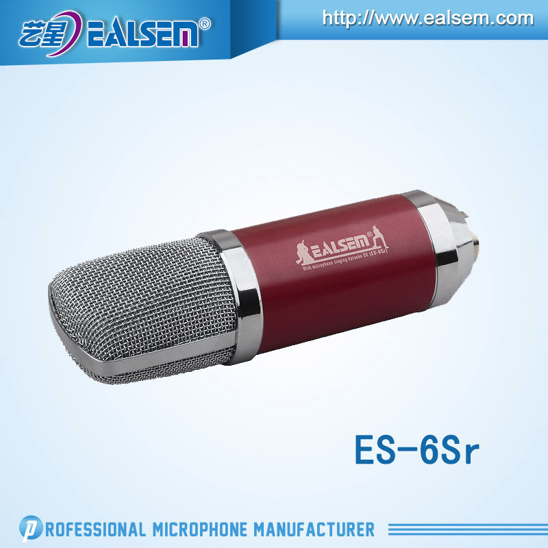 Ealsem Es-6sr Good Sell in USA Computer Studio Microphone