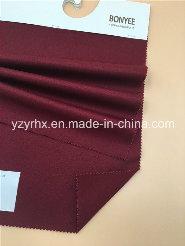 Finished Fabric 100% Cotton Twill Printed Deep Red