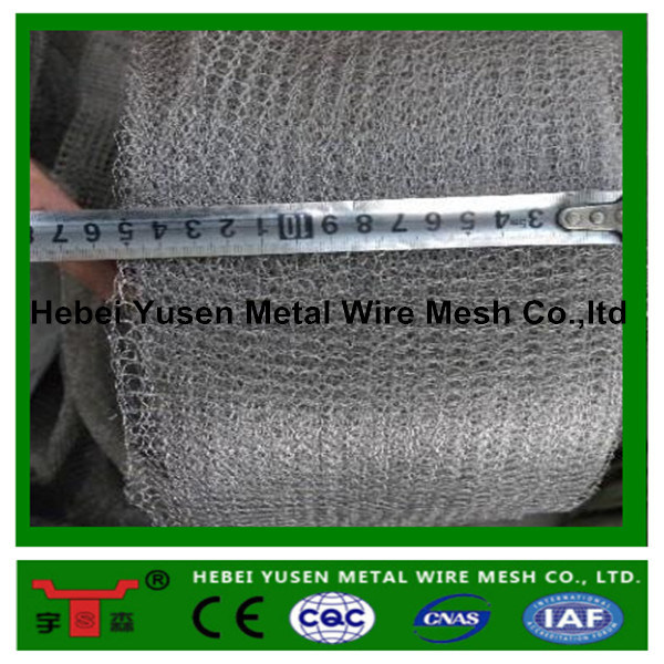 Hot Sale! High Quality Stainless Steel Knitted Wire Mesh for Gas Liquid Filtration