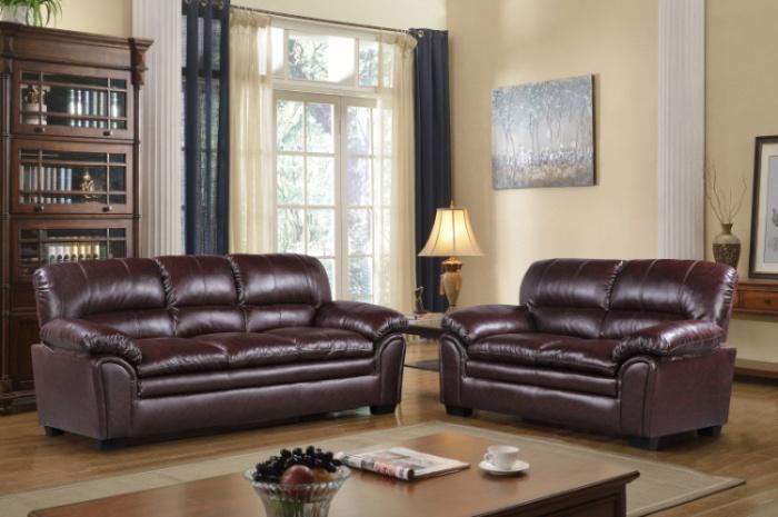 2839 PU Sofa