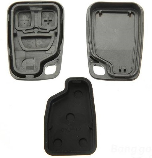 Custom ABS Plastic Car Remote Key Cover Injection Molded Products