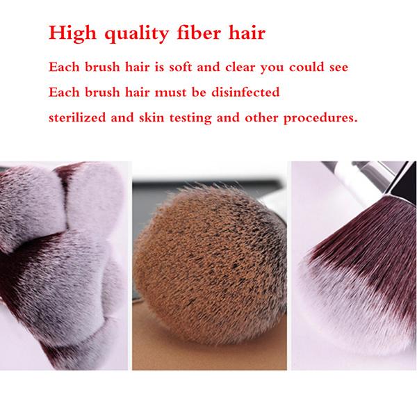 Professional 15 Pieces Elegant Rose Golden Makeup Brush Set