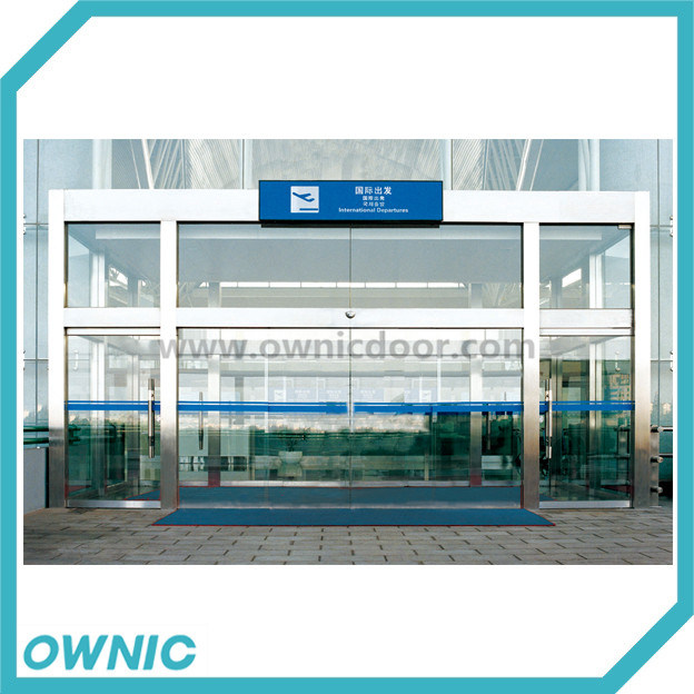 Frameless Glass Automatic Sliding Door for Airport (glass not included)