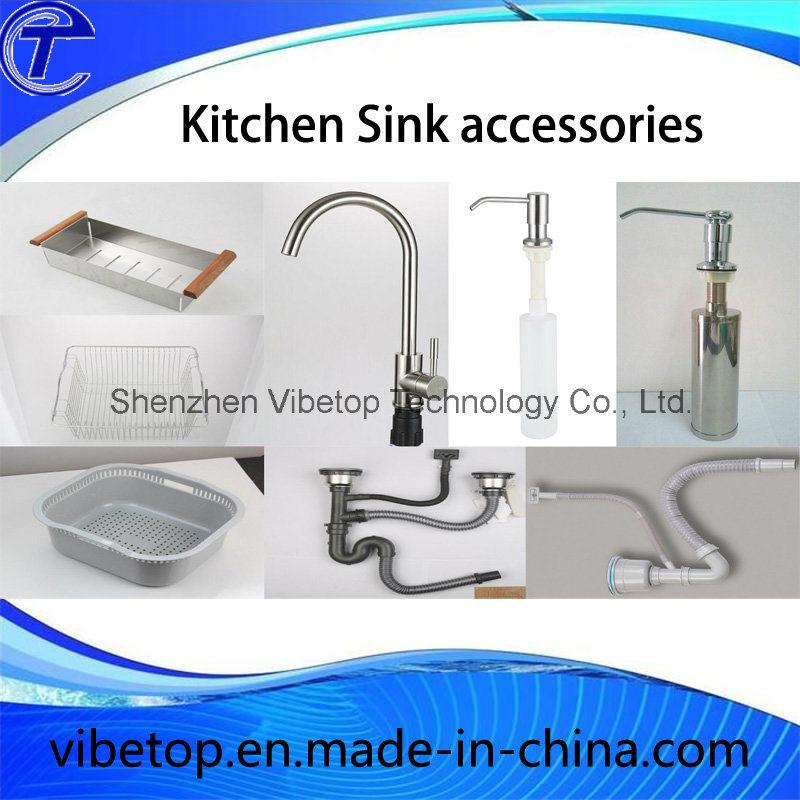 Professional Manufacturer Stainless Steel Kitchen Sink (KS8445)