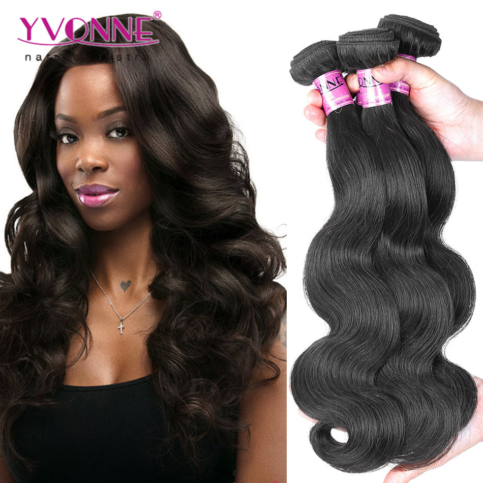 Fashion Body Wavy Brazilian Human Hair Extesion
