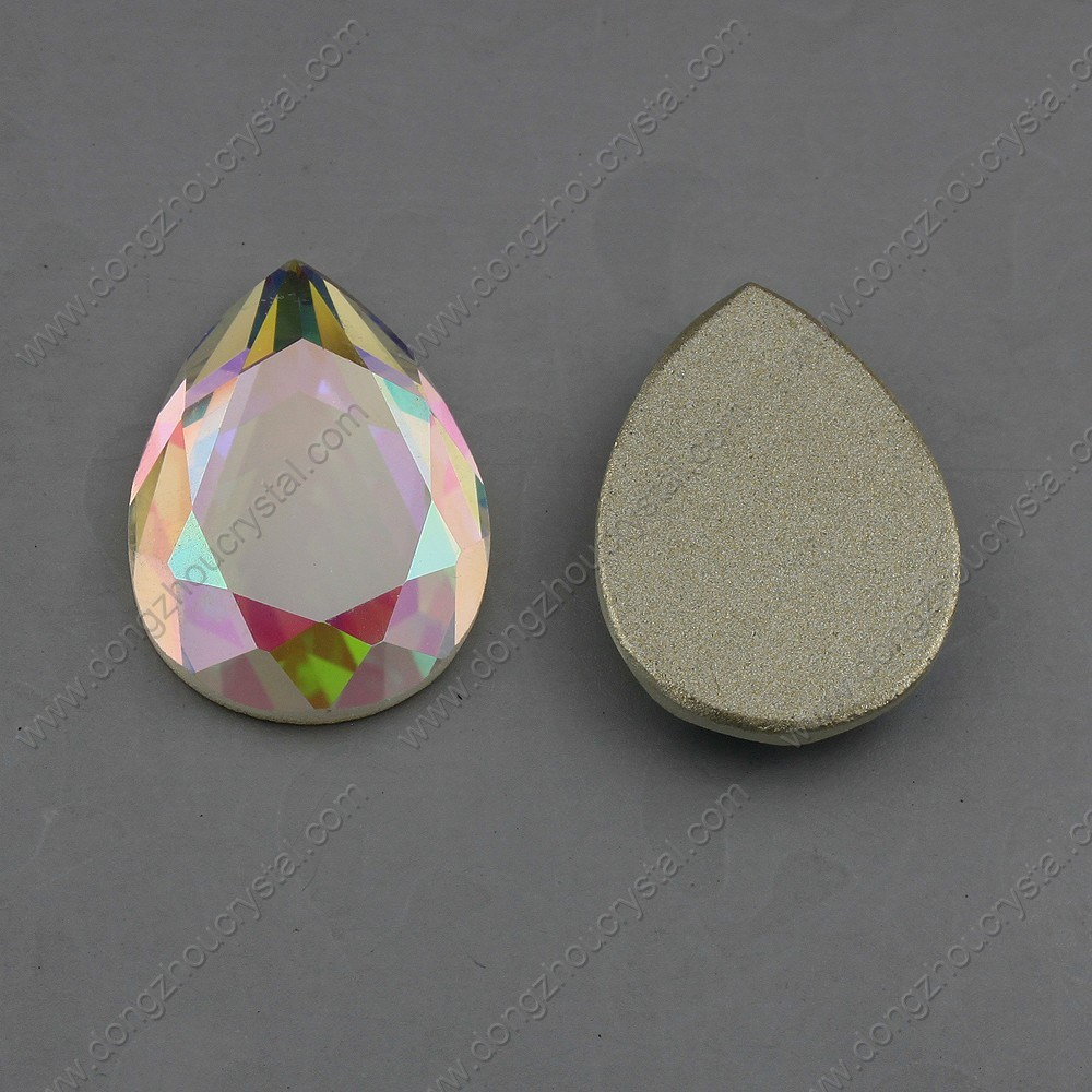 Drop Jewelry Stones Flat Back Stones (DZ-1023)