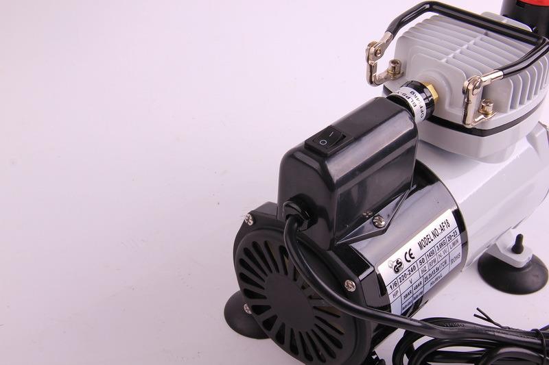 Af18-2 Airbrush Set Kit Air Compressor Propellant Hose Hobby Tanning Tattoo Spray Gun