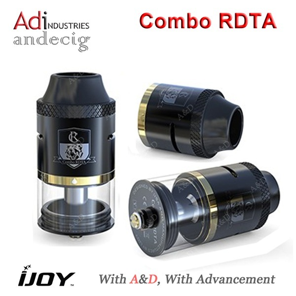 New Product- Ijoy Combo Rdta 100% Original Ijoy Atomizer